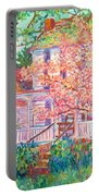 Spring Church Scene Portable Battery Charger