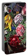 Spring Flower Bouquet Portable Battery Charger