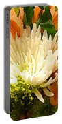 Spring Flower Burst Portable Battery Charger