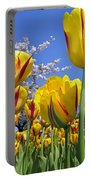 Spring Flowers 12 Portable Battery Charger