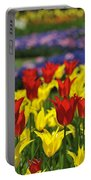 Spring Flowers 4 Portable Battery Charger