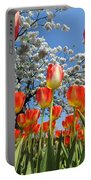 Spring Flowers 7 Portable Battery Charger