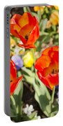 Spring Flowers No. 3 Portable Battery Charger