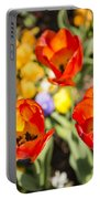 Spring Flowers No. 4 Portable Battery Charger