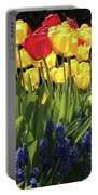 Spring Garden Sunshine Square Portable Battery Charger
