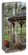 Spring Gazebo Pastel Effect Portable Battery Charger