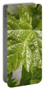 Spring Grape Leaf Portable Battery Charger