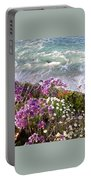 Spring Greets Waves Portable Battery Charger