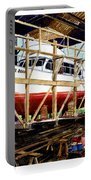 Yacht Glacier Bear Hauled Out In Gig Harbor Portable Battery Charger