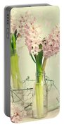 Spring Hyacinths Portable Battery Charger