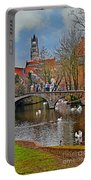 Spring In Bruges Portable Battery Charger