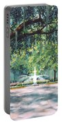 Spring In Forsythe Park Portable Battery Charger