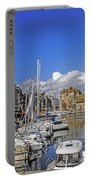 Spring In Honfleur Portable Battery Charger