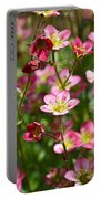 Spring In Pink Portable Battery Charger