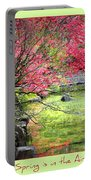 Spring Is In The Air Portable Battery Charger