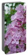 Spring Lilac Portable Battery Charger