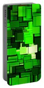 Spring Modern Abstract Xiv Portable Battery Charger