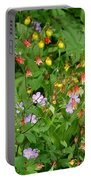 Spring On The Forest Floor Portable Battery Charger