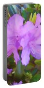 Spring Pink Azalea Portable Battery Charger