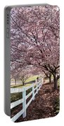 Spring Pink Portable Battery Charger
