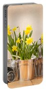 Spring Planting Portable Battery Charger