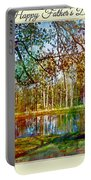 Spring Pond Photoart Father's Day Portable Battery Charger