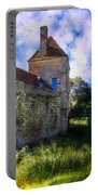 Spring Romance In The French Countryside Portable Battery Charger by Debra and Dave Vanderlaan