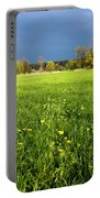 Spring Scenery Portable Battery Charger