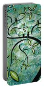 Spring Shine By Madart Portable Battery Charger