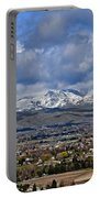 Spring Snow On Squaw Butte Portable Battery Charger