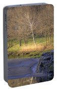 Spring Sunrise At Ring Bolt Rock Portable Battery Charger