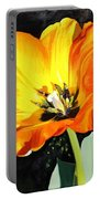 Spring Tulip Portable Battery Charger
