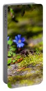 Spring Wild Flowers Portable Battery Charger