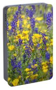 Spring Wildflower Bouquet  Portable Battery Charger