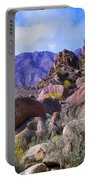 Spring Wildflowers At Anza Borrego Portable Battery Charger