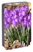 Springflowers Portable Battery Charger