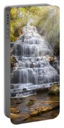 Springtime At Benton Falls Portable Battery Charger