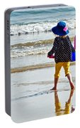 Springtime At The Seaside Portable Battery Charger