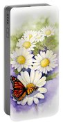 Springtime Daisies  Portable Battery Charger
