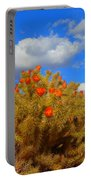 Springtime In Arizona Portable Battery Charger