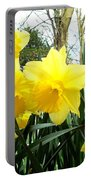 Springtime In Ireland Portable Battery Charger