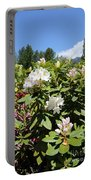 Springtime In The Cascades Portable Battery Charger