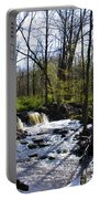 Springtime In The Mountains Portable Battery Charger