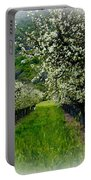 Springtime In The Orchard Portable Battery Charger by Bill Gallagher