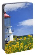 Springtime Lighthouse Portable Battery Charger