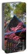 Springtime Pagoda Portable Battery Charger