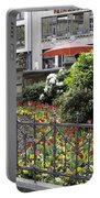 Springtime Tulips In Cologne Germany Portable Battery Charger