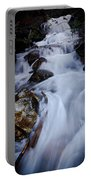 Springtime Waterfall Portable Battery Charger