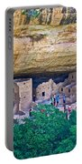 Spruce Tree House On Chapin Mesa In Mesa Verde National Park-colorado  Portable Battery Charger
