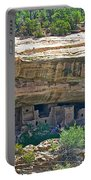 Spruce Tree House Pueblo On Chapin Mesa In Mesa Verde National Park-colorado Portable Battery Charger